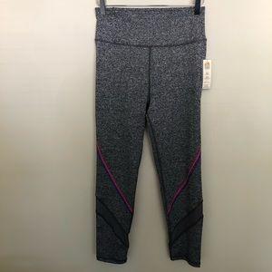 NWT C&C   Gray Pink & Purple High Waist Leggings